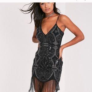 Dresses & Skirts - Ashleah Beaded Tassel Dress
